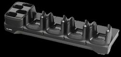 Imagem de Berco 4 pos. p/ carga e com. Ethernet do coletor MC33 e 4 pos. p/ carga da bat. Cotar fonte e cabos.