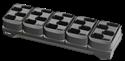 Imagem de Carregador de 20 posicoes para baterias do MC32/MC33. Cotar fonte e cabos a parte.